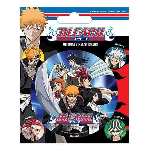 Bleach Attack Characters Vinyl Stickers Set Decals